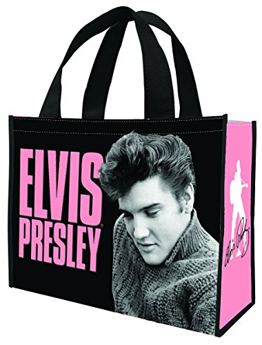 (Elvis Presley Large Recycled Shopper Tote 47173)
