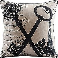 Etaovip Sofe Quality Home Decor Cotton Pattern Sofa Throw Pillow Cover Cushion-Enjoy The Life