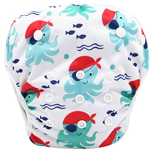 - storeofbaby Washable Baby Swim Diaper for Boys and Girls Washable Cover 0-3 Years