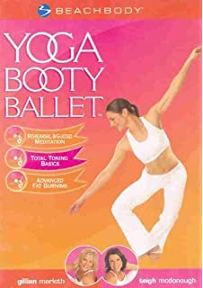 Amazon.com: Yoga Booty Ballet 2 Discs: A.M. Latte/Goddess ...
