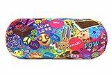 Top Trenz Microbead Bolster Pillow Emoji -Pow Print - Gumball scented