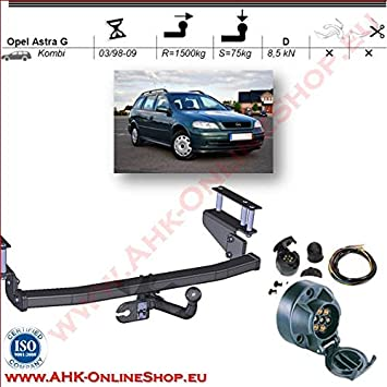 AHK Ford Focus Bj.1998-2004 Schrägheck Anhängevorrichtung Anhängerkupplung NEU