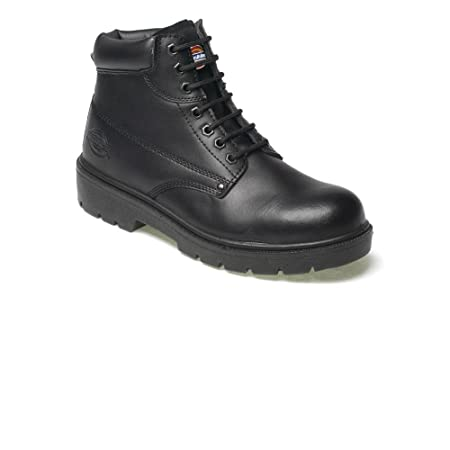 00d3ef484ff Antrim black leather hd safety boots s44