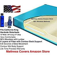 California King 90% Waveless Waterbed Mattress with Lumbar Support