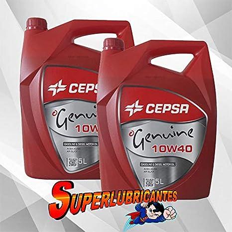 Mundocoche Cepsa Genuine 10W40 2X5L(10Litros)