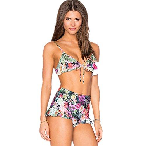 Split vola costumi da bagno bikini donne , 1 , l