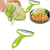 jhtceu Vegetable Peeler Cabbage Grater Potato Slicer Cutter Fruit Knife Salad Tool