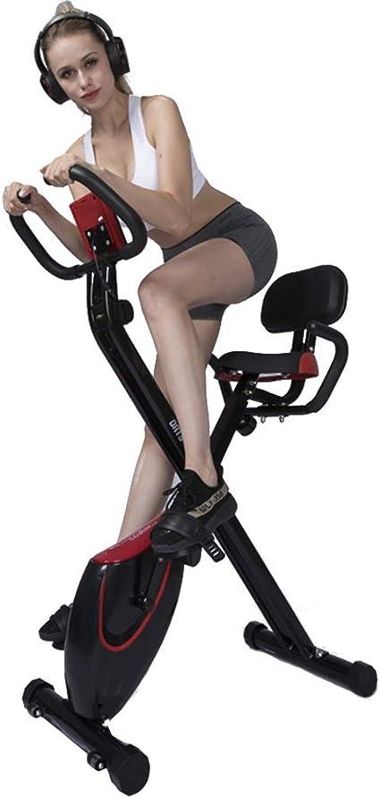 Keumer Multifuncional Bicicleta Estática Control Magnético Silencioso Interior Plegable Entrenador Doméstico-Sistema De Banda De Resistencia De ...