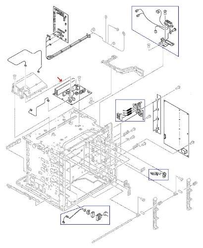 (HP RG5-6801-040CN LASERJET 5500 PC Board,Fuser power supply PC Board - 110-127 vol )