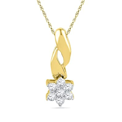 Jpearls Nagina Diamond Pendant Women's Pendants