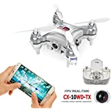 Amazingbuy - Cheerson CX-10WD Mini Wifi FPV Quadcopter Drone With 0.3MP Camera High Hold Mode 2.4G 6