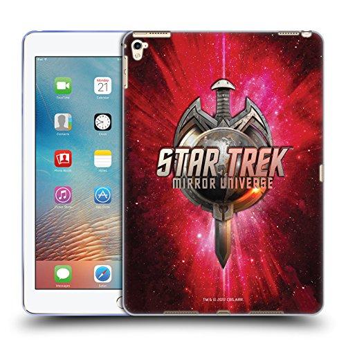 Official Star Trek Terran Empire Sword & Globe Logo Mirror Universe TNG Soft Gel Case for iPad Pro 9.7 (2016)
