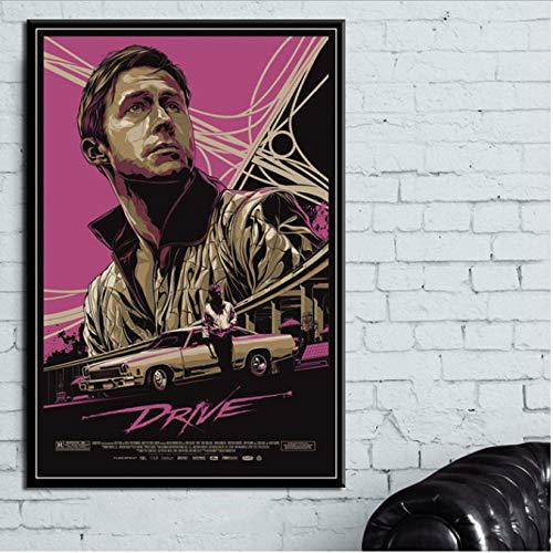 Conduzca el cartel clásico de la película Ryan Gosling ...
