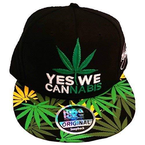 CANNABIS de YES Gorra plantas unisex de diseño con WE con marihuana Ice de King plana visera 8ZOCS8q