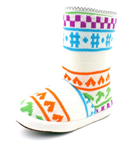 Luckers Dames Slipper Boots A 8-bit White