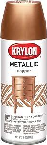 Krylon K02203 General Purpose, 12 Ounces BRILLIANT SPRAY PAINT METALLIC COPPER