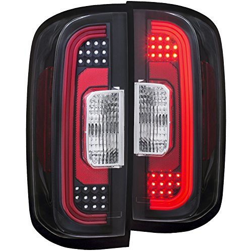 Jdm Black Led Tail Lights - 5