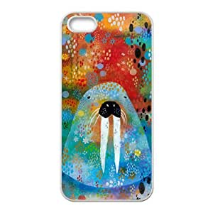 I Am the Walrus iPhone 4 4s Cell Phone Case White Protect your phone BVS_786359
