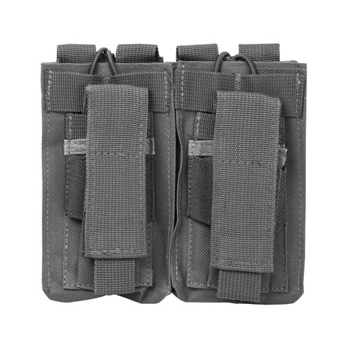 NC Star CVAR2MP2927U NcStar, AR Double Mag Pouch, Urban Gray
