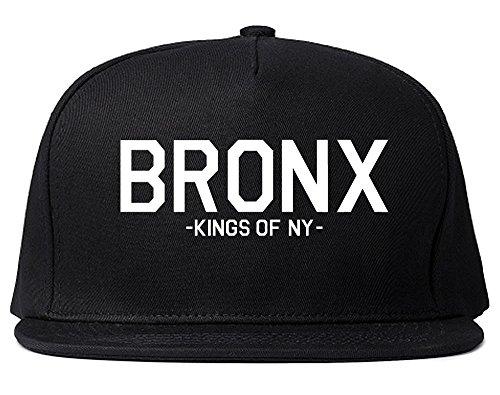 Kings Of NY Bronx Boro Borough New York Snapback Hat Black