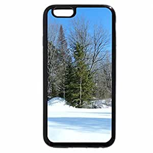 iPhone 6S / iPhone 6 Case (Black) Snow Shadows