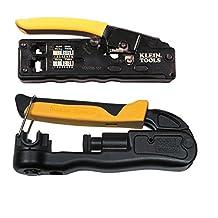 Klein Tools VDV226-107 / VDV211-063 Crimpers Modular / Coax Ratcheting Combo 2PC Kit