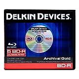 Delkin DDBD-R/5 BIND 6X 5 Pack BD-R in 10 Pack Binder
