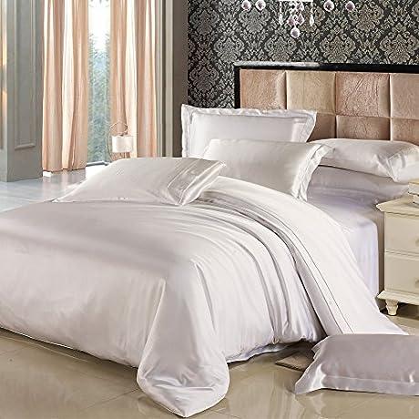 Lilysilk 1002 02 Ustw 19 Momme Silk Duvet Quilt Comforter Cover Twin 67 X 87 White