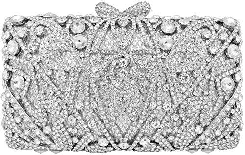 Crystal Clutch for Women Rhinestone Evening Bag ()