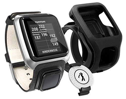 TomTom Golfer Premium Edition GPS Watch (Black) by TomTom