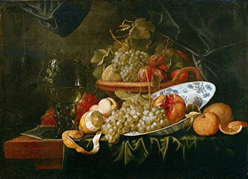 (kunst für alle Art Print/Poster: Alexander Coosemans Still Life of Fruit Picture, Fine Art Poster, 37.4x27.6 inch / 95x70 cm)