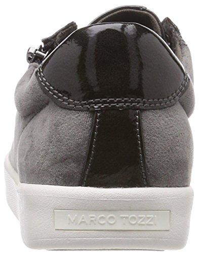 Comb 31 2 2 Tozzi 225 Sneakers Marco grey Dk 225 Basses Femme 23774 Gris Ix7UqEw