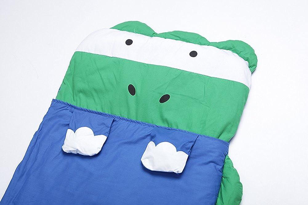 Le SSara Niños niño y niña Big dibujo animado saco del empavesado bolsas 140 cm * 60 cm (A-azul dinosaurio): Amazon.es: Ropa y accesorios
