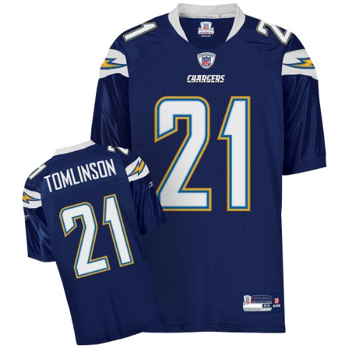 Reebok San Diego Chargers Ladainian Tomlinson Authentic Jersey Size: Size 52