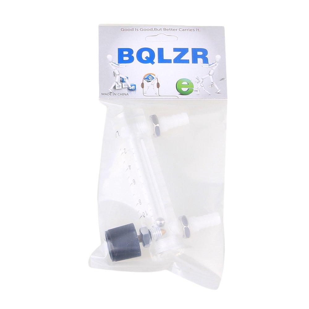 Black+White LZQ-3 Height 90MM Flowmeter 0-10 LPM Flow Meter for Oxygen/Air/Gas