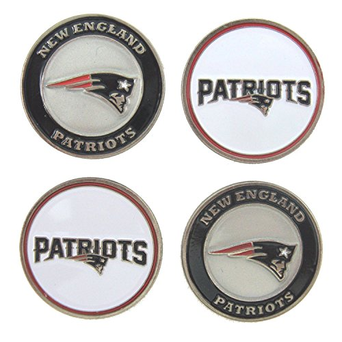 (New England Patriots Golf Ball Markers (Set of 4))