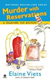 Front cover for the book Murder with Reservations by Elaine Viets
