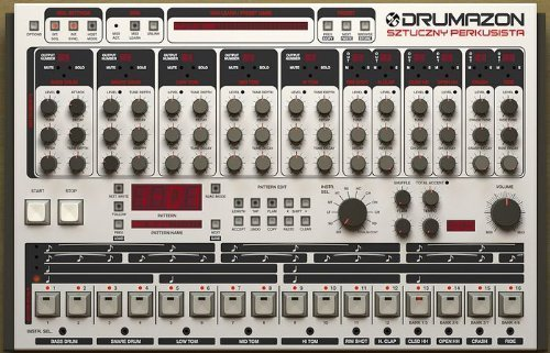 D16 Group drumazon Emulation Software Tr909, Vst/Au ()