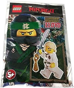 ORIGINAL LEGO NINJAGO LLOYD White LIMITED EDITION Minifigure  Foil pack 471701