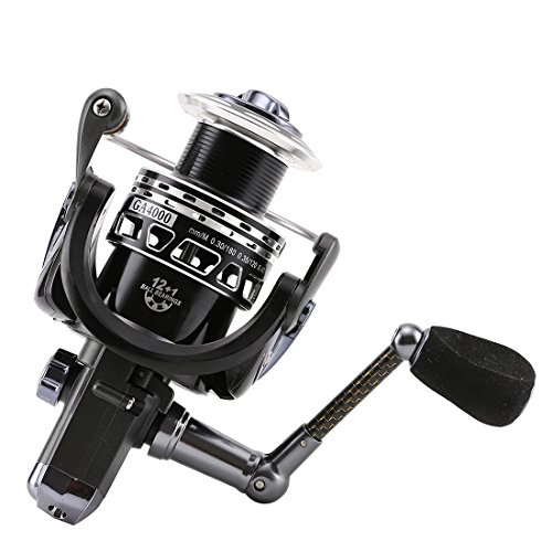 SeaKnight Galaxy Spinning Reels Fishing Reel 12 1BB Light Weight Ultra Smooth Carbon Fiber Drag Powerful