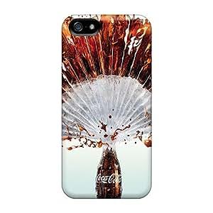 BvD1297eWpY Snap On Case Cover Skin For Iphone 5/5s(coke Fan)