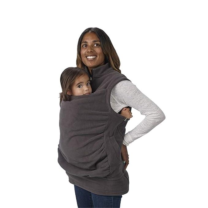 1093579be Zhongke Baby Carrier Hoodie Jacket Maternity Sweatshirt Kangaroo Pocket  Coat Jacket para bebé Embarazada usando Baby Pullover Fleece Outerwear  Sudadera con ...