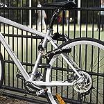 MASTER-LOCK-Catena-Bici-con-Mini-U-Antifurto-Chiave-Luccheto-Certificato-8234EURDPRO-Ideale-per-Proteggere-Bicicletta-Bici-Elettrica-Bici-da-Corsa