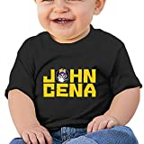 Lennakay Baby Never Give Up Me Wrestling Round Neck Cute Tshirts Short 18 Months