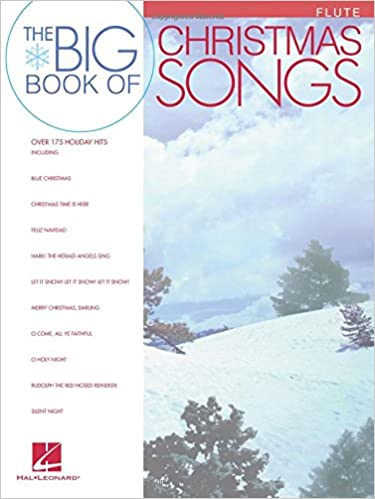 Big Book Of Christmas Songs For Flute Hal Leonard Corp