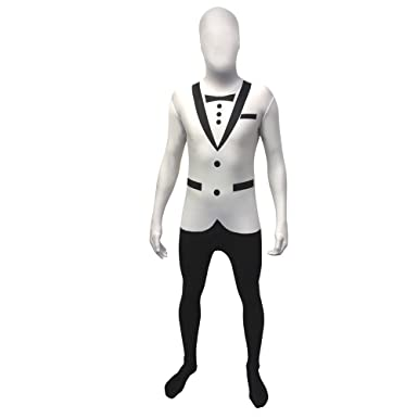 White Tuxedo Morphsuit Fancy Dress Costume - size Medium - 5u201d-5u201d4  sc 1 st  Amazon.com & Amazon.com: Morphsuits Morphsuit Premium Tuxedo: Clothing