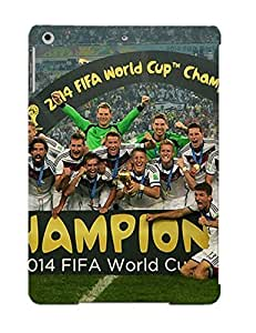 Fashion Protective Germany Fifa World Cup 2014 Champion Soccer Case Cover Design For Ipad Air