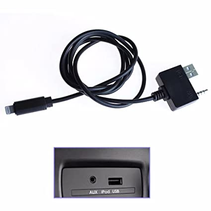 Amazon com: HonsCreat 3 5mm AUX USB Music Interface Lighting Charge