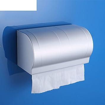 caja de aluminio de espacio Baño impermeable rodillo acolchado ...