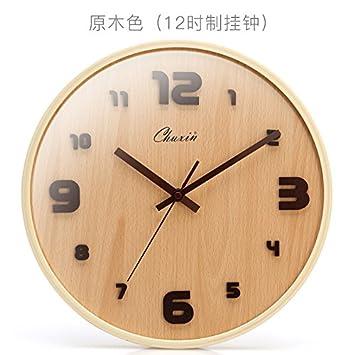 Amazon.de: JJD 24.Stunde Holz- Continental Uhren Die Moderne ...